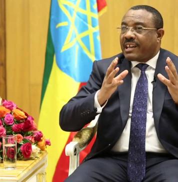 Haile Mariam Desalegn resigns